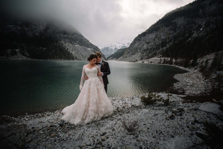 Banff Canmore Wedding Photographer | Banff Elopement Photographers | Calgary Bridal Photography
