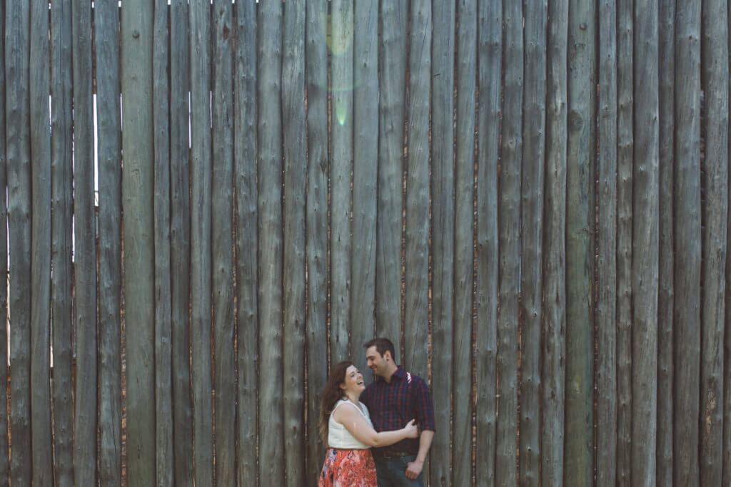 Fort Edmonton Park Engagement Session | Edmonton Photographer