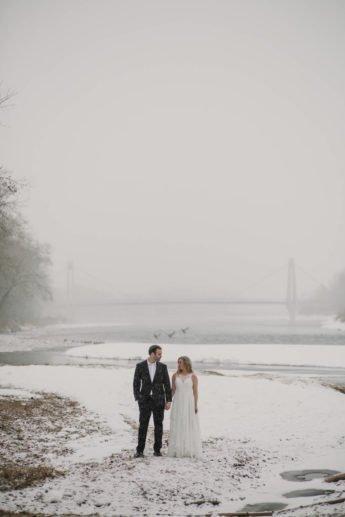 Calgary Banff Canmore Wedding Photography | Winter Wedding