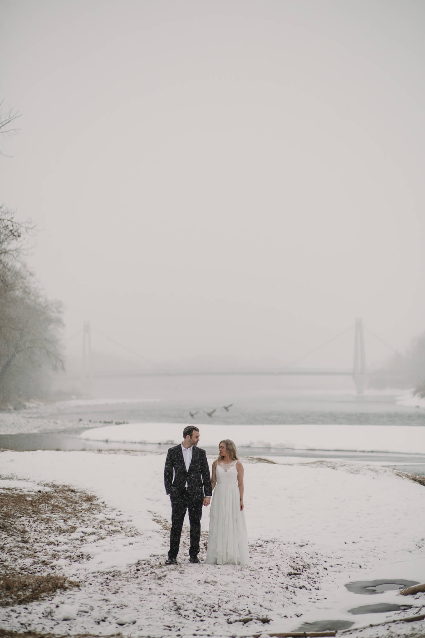 Calgary Wedding Photographers | Winter Wedding Banff