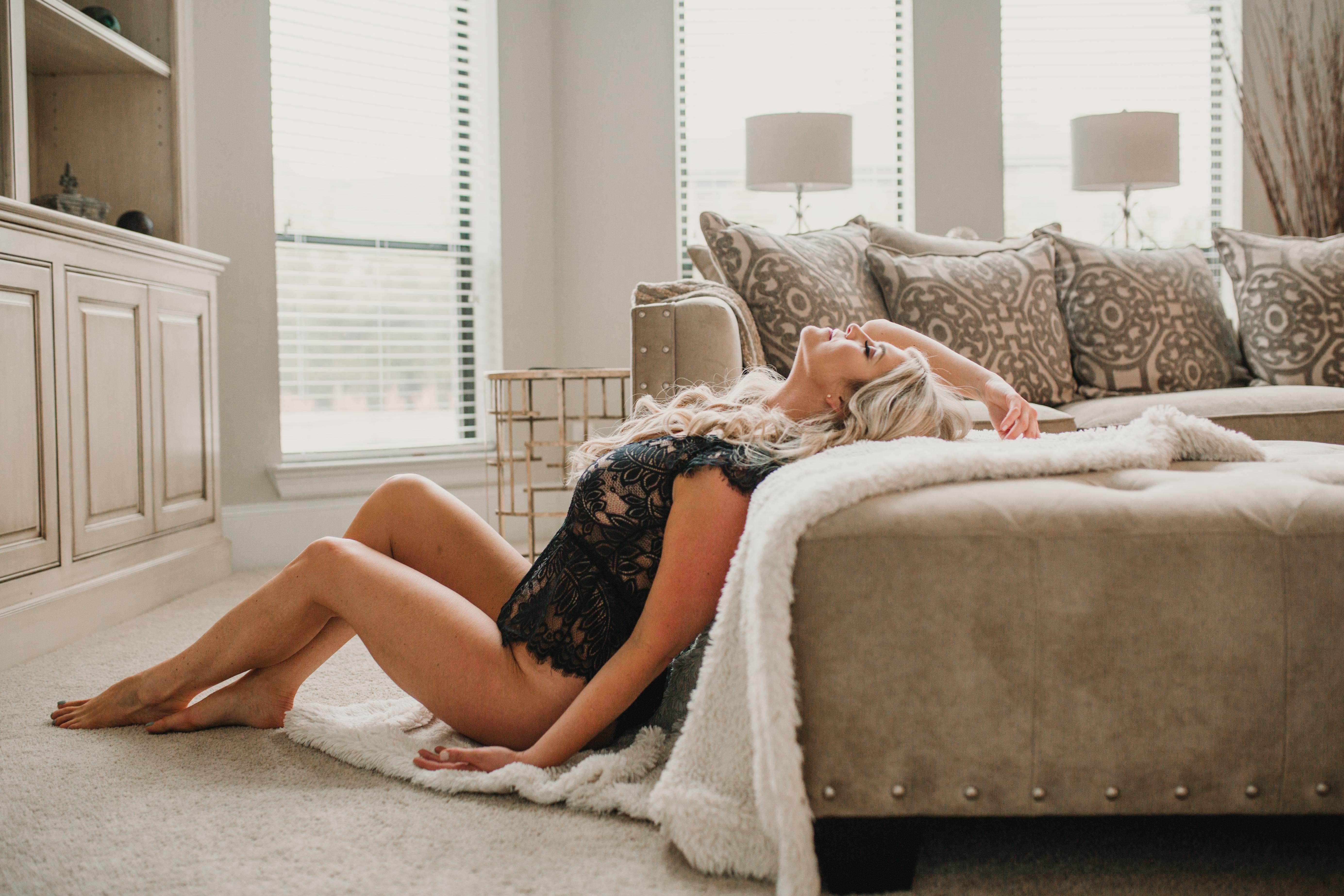 Best Calgary Boudoir Photographer Empowerment Self Love Intimate Portraits
