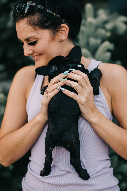 Calgary Makeup Artist | French Bulldog Puppy | YYC HMUA | Weddings Porrtaits